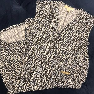Michael Kors wrap-style dress